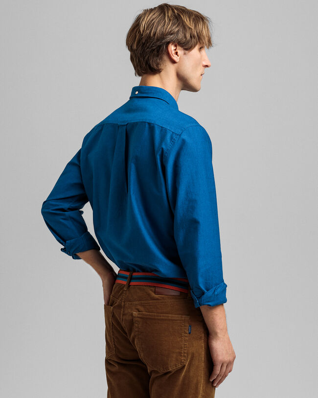 Beefy Regular Fit Oxford-Hemd mit Karomuster