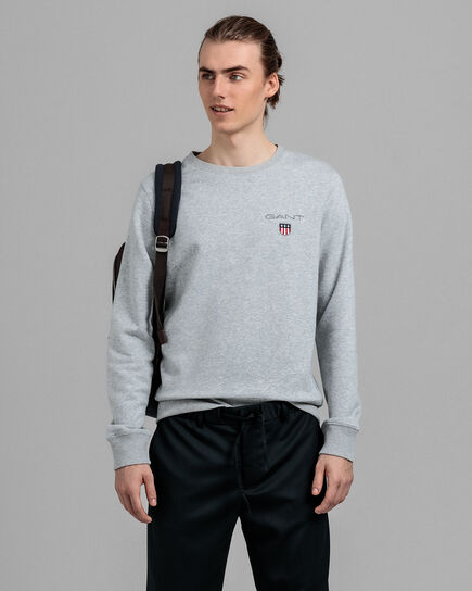 Medium Shield Rundhals-Sweatshirt