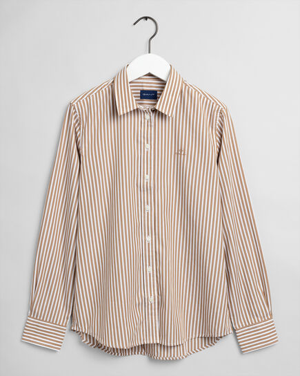 Striped Broadcloth Shirt