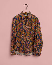 EZ Fit Lyocell Hemd mit Paisley-Muster