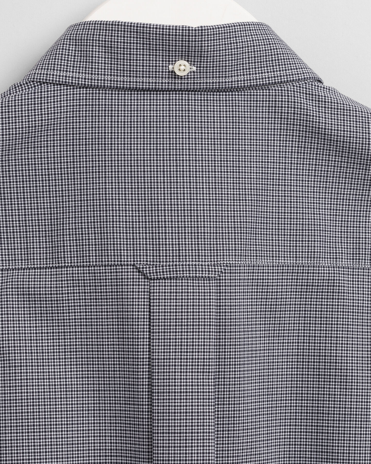 Regular Fit Broadcloth Hemd mit Mini-Karomuster