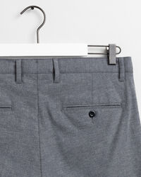 Extra Slim Fit Hose mit Fischgrätmuster