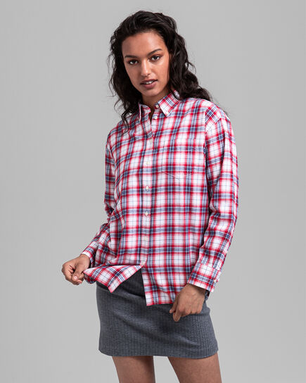 Legere Karobluse aus Flanell