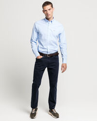Slim Fit Broadcloth Hemd