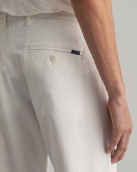 Hallden Slim Fit Sunfaded Chinohose