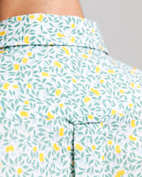 Lemonade Print Regular Fit Hemd