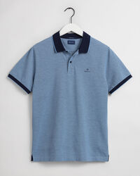 Oxford Piqué Rugger Poloshirt in 4 Farben