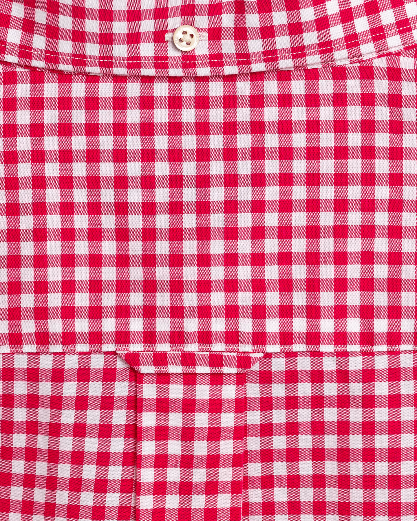 Regular Fit Broadcloth Hemd mit Vichy-Karo