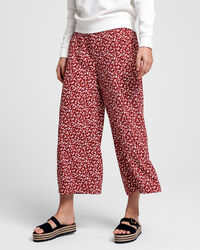 French Floral Fluid Culotte