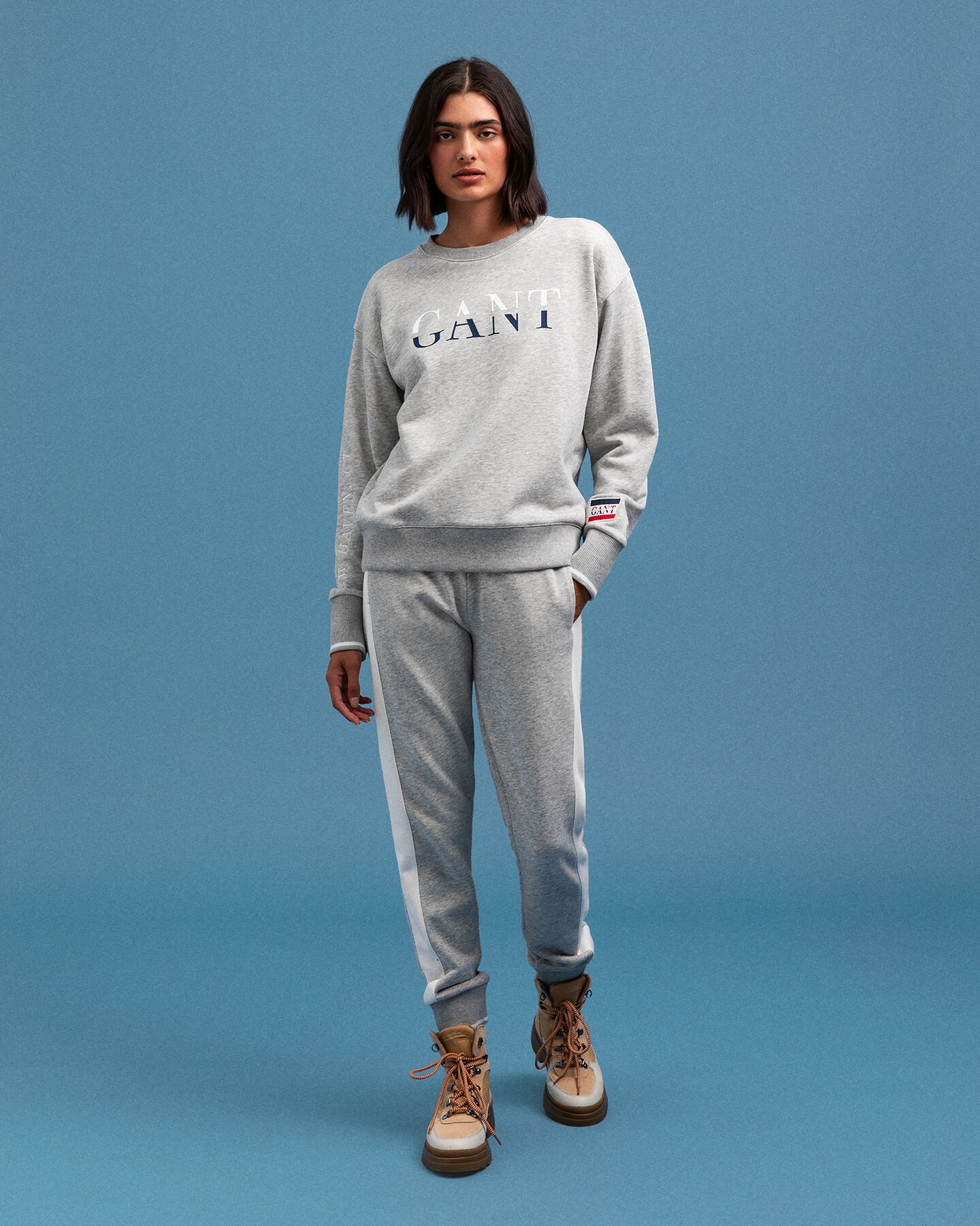 Graphic Rundhals-Sweatshirt