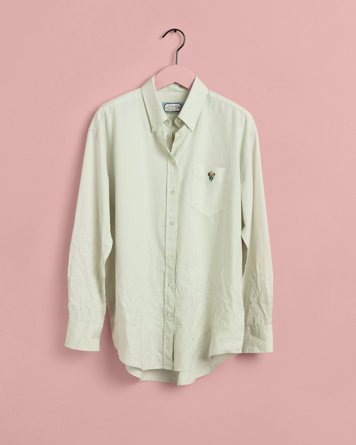 Relaxed Oxford-Bluse