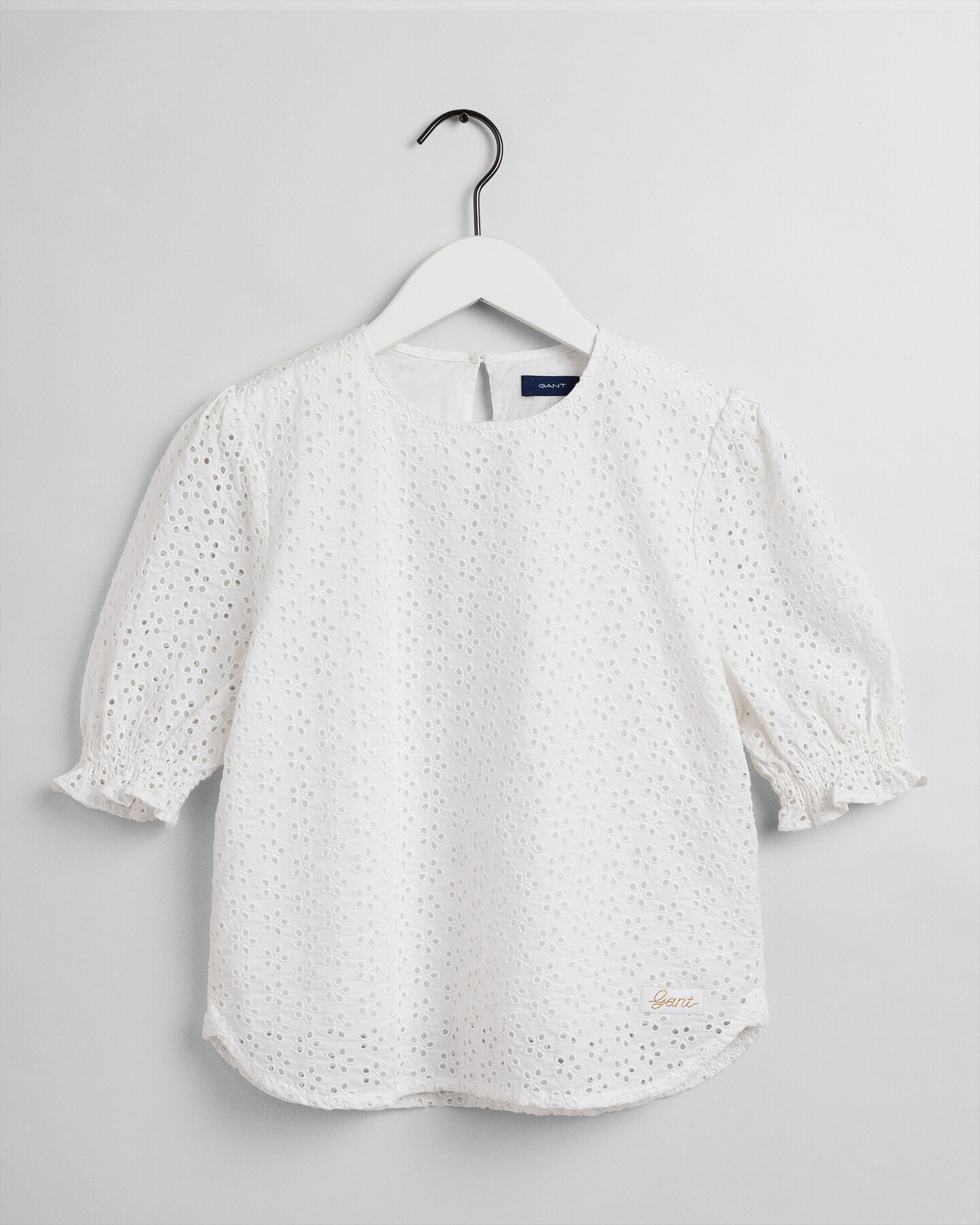 Teen Girls Broderie Anglaise Bluse