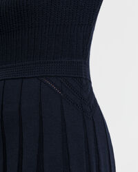 Pointelle Knitted Dress